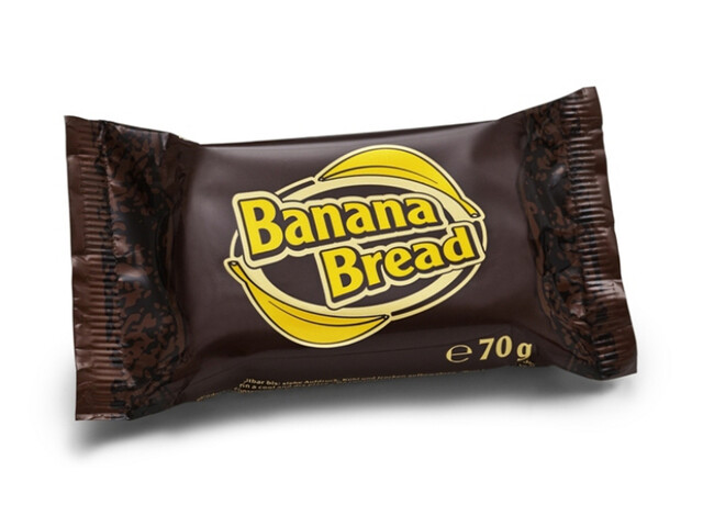 Energy OatSnack Bar Sports Nutrition Banana Bread 70g